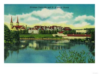 Gonzaga University and St. Aloysius Church, Spokane - Spokane, WA