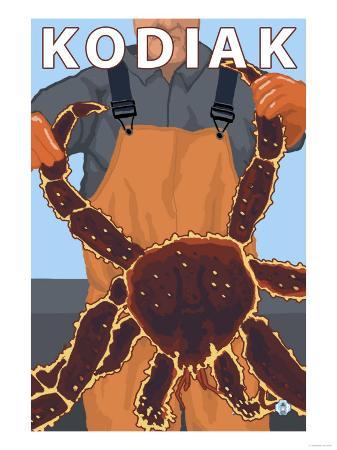 Kodiak, Alaska - Alaskan King Crab