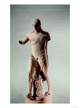 Apollo of Veii, from the Temple of Minerva, c.510 BC