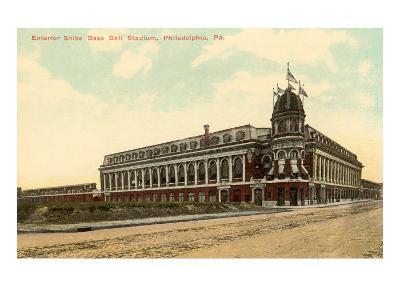 Exterior Shibe Baseball Stadium, Philadelphia, Pennsylvania