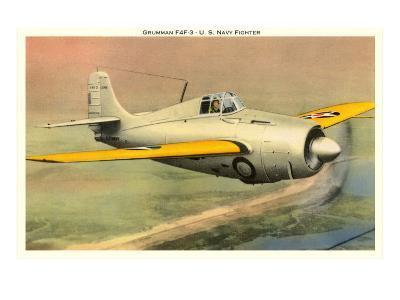 Grunman F4F3 U.S. Navy Fighter