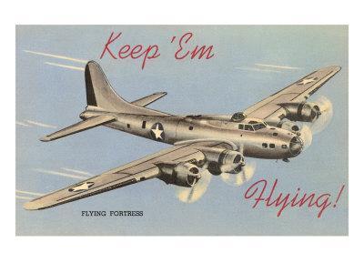Keep Em Flyng, Flying Fortress