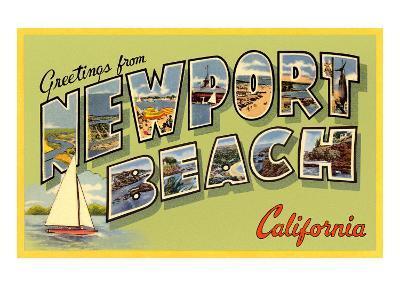 Greetings from Newport Beach, California