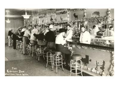 The Cowboy Bar, Jackson Hole, Wyoming