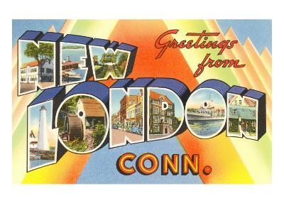 Greetings from New London, Connecticut