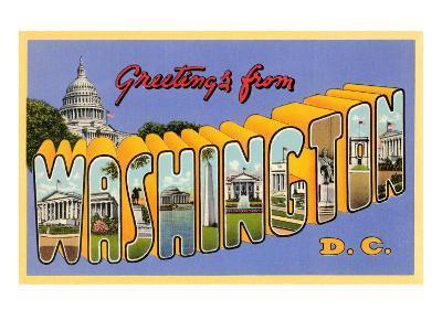 Greetings from Washington, D.C.