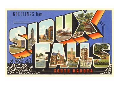 Greetings from Sioux Falls, South Dakota