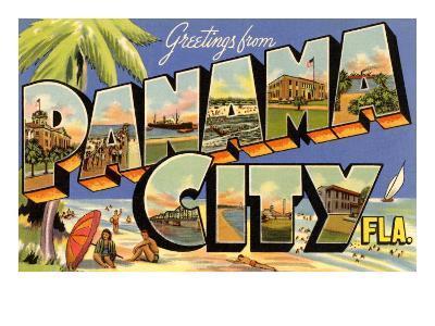 Greetings from Panama City, Florida