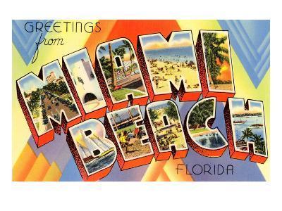 Greetings from Miami Beach, Florida