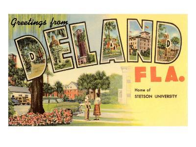 Greetings from Deland, Florida