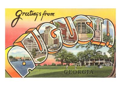 Greetings from Augusta, Georgia