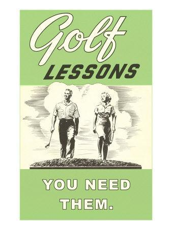 Golf Lessons, You Need Them