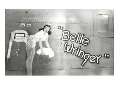 Nose Art, Belle Wringer, Pin-Up