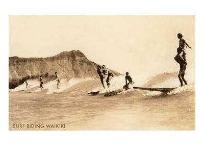 Surf Riding, Hawaii, Photo