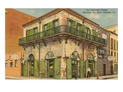 Old Absinthe House, New Orleans, Louisiana