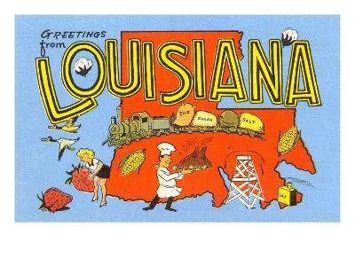 Greetings from Louisiana