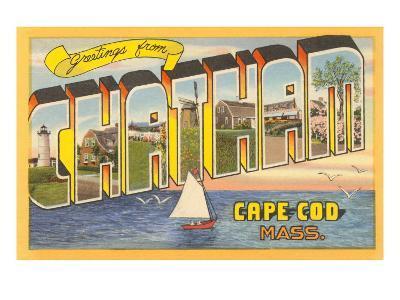 Greetings from Chatham, Massachusetts