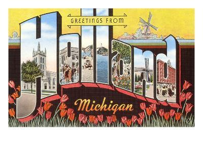 Greetings from Holland, Michigan