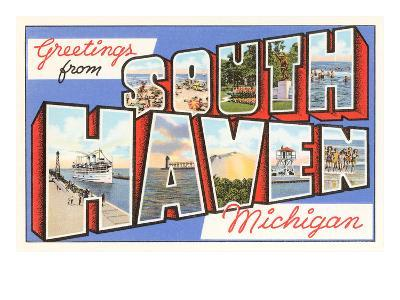 Greetings from South Haven, Michigan