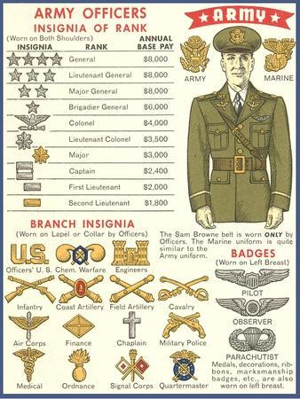 Army Officers Insignia