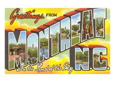 Greetings from Montreat, North Carolina