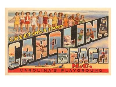 Greetings from Carolina Beach, North Carolina