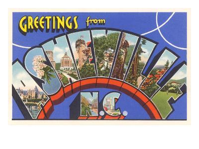 Greetings from Asheville, North Carolina