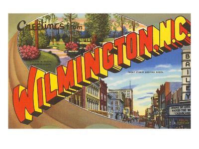 Greetings from Wilmington, North Carolina