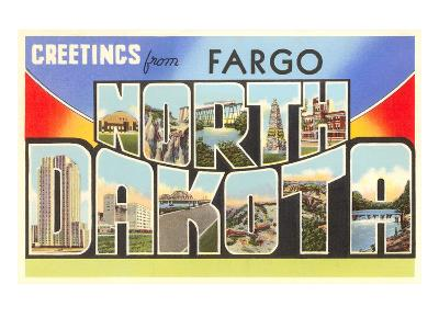 Greetings from Fargo, North Dakota