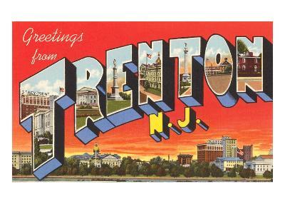 Greetings from Trenton, New Jersey