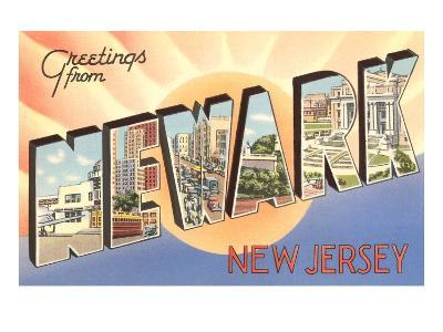 Greetings from Newark, New Jersey