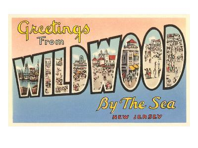 Greetings from Wildwood-by-the-Sea, New Jersey
