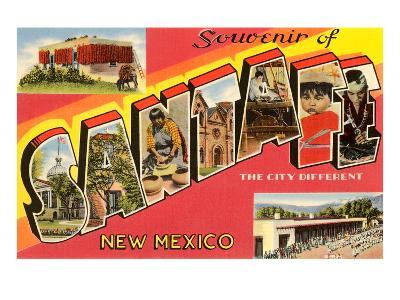 Souvenir of Santa Fe, New Mexico