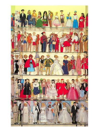 Barbie Doll Collection Retro Prints At Allposters Com