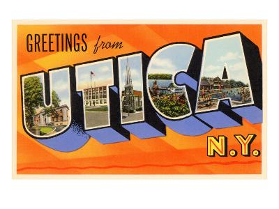 Greetings from Utica, New York