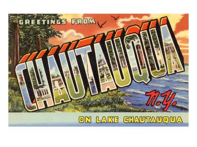 Greetings from Chautauqua, New York