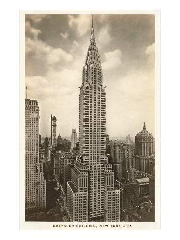 The Chrysler Building New York City Poster