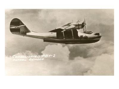 Consolidated PBY-2 Navy Patrol Bomber