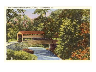 Covered Bridge, Valley Forge, Pennsylvania