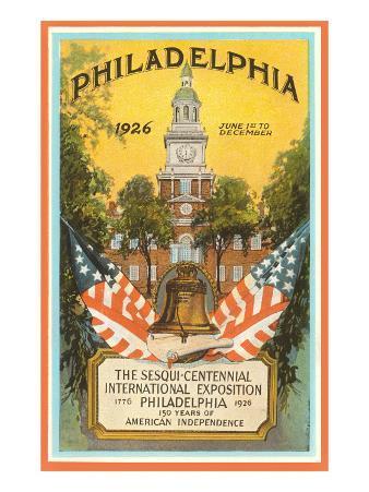 Sesqui-Centennial Poster, Philadelphia, Pennsylvania, 1926