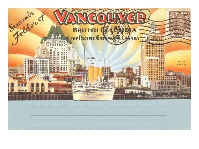 Postcard Folder, Vancouver, British Columbia