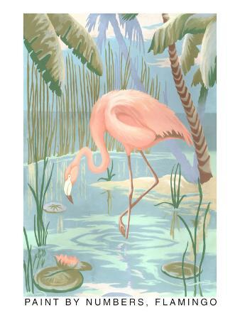 Paint by Numbers, Flamingo