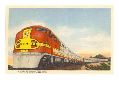 Santa Fe Streamlined Train