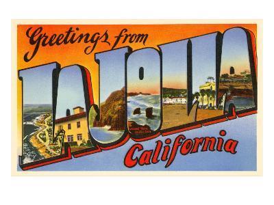 Greetings from La Jolla, California