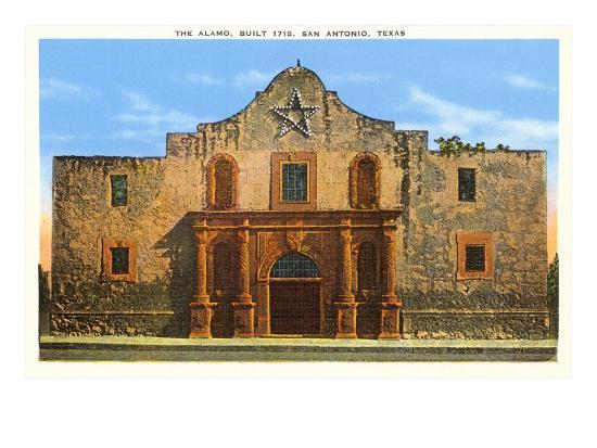 The Alamo San Antonio Texas Prints At Allposters Com