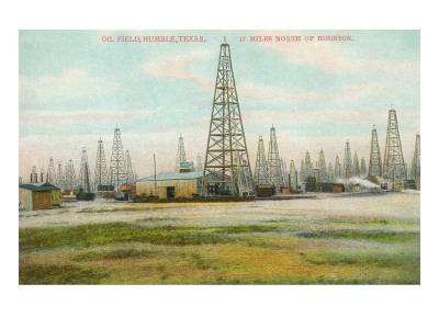 Oil Field, Humble, Texas