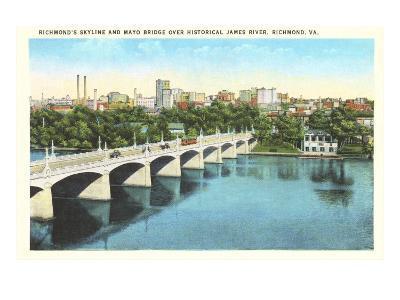 Richmond Skyline, James River, Virginia