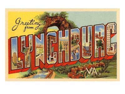 Greetings from Lynchburg, Virginia