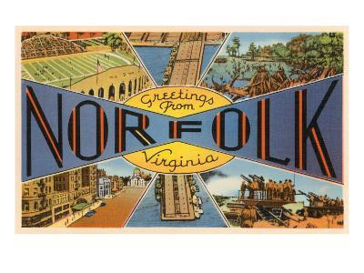 Greetings from Norfolk, Virginia
