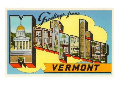 Greetings from Montpelier, Vermont